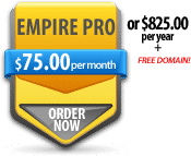 Order Empire Pro Reseller Web Hosting