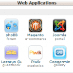 cPanel Sample Web Applications